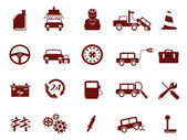 Auto Car Service Icon — Stock Vector