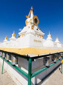 Big stupa in Gandan monastery — Stock Photo