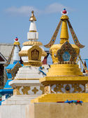Row of stupa in Gandan monastery — Stock Photo
