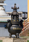 Big urn in Gandan monastery — Stock Photo