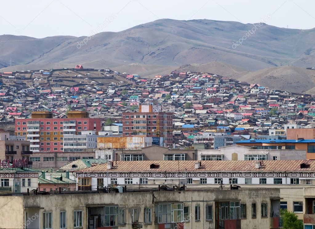 Ulaanbaatar Mongolia  city photos gallery : depositphotos 5846828 Architecture of Ulaanbaatar Mongolia