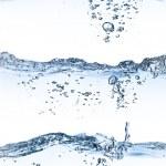 conjunto de salpicos de água — Fotografia Stock  #5422954