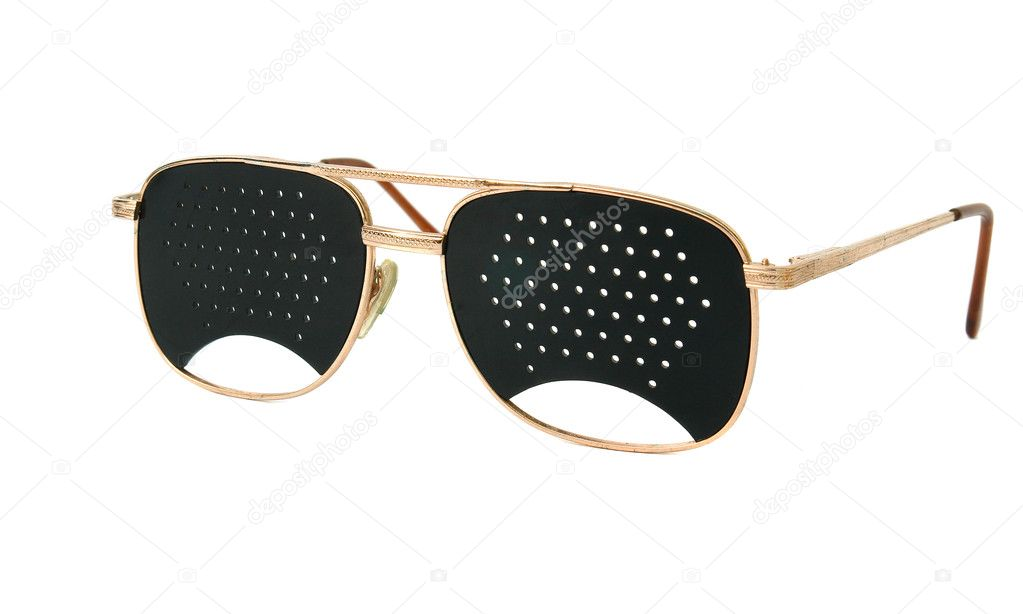 Correction Glasses Holes
