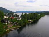 Lake in the Norwegian mountains — Stock Photo