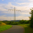 Support of power transmission line — Stock Photo #6309700