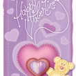 Royalty-Free Stock Vector Image: Greeting Card Valentine
