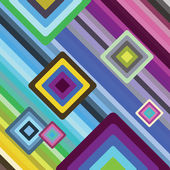 Quadratic pattern background — Stock Vector