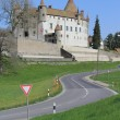 Old castle of Oron, Vaud canton, Switzerland - Foto de Stock