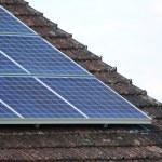 Solar panels — Stock Photo #5739955