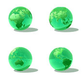 Green earth — Stock Photo