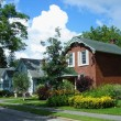 Houses in Gananoque, Ontario, Canada — Stockfoto