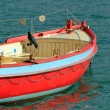 Colored boat — Stock Photo