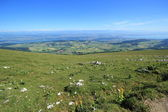 Alps from the Chasseral mount, Jura, Switzerland — Stock Photo