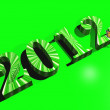 Stock Photo: Green 2012