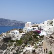 Village of Oia in Santorini, Greece. — Stock Photo