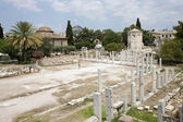 Ancient Roman Agora, Athens, Greece. — Stock Photo