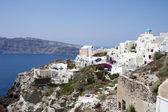 Village of Oia in Santorini, Greece. — Stock Photo