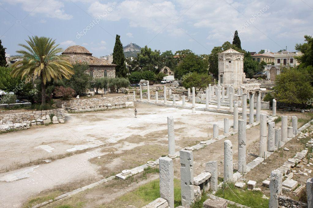 古代ローマのアゴラ、アテネ、ギ...