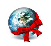 World as a gift — Stock Photo