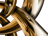 Abstract gold — Stockfoto