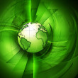 Green planet — Stock Photo #6550189