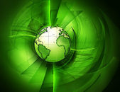 Green planet — Stock Photo