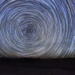 Time Lapse Image of the Night Stars — Stock Photo #6197052