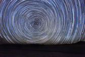 Time Lapse Image of the Night Stars — Stock Photo