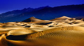 Beautiful Sand Dune Formations in Death Valley California — Stock Photo