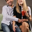 Young cheerful couple — Stock Photo #5725912