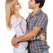 Beautiful young couple — Stock Photo #5725942