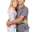 Beautiful young couple — Stock Photo #5725943