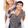 Cheerful young couple — Stock Photo #5725944