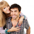 Beautiful young couple — Stock Photo #5725945
