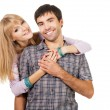 Happy young couple — Stock Photo #5725949