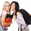 Two lovely students — Stock Photo #5726284