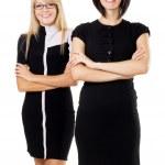 Two beautiful businesswoman — Stock Photo