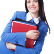 Lovely businesswoman — Stock Photo