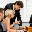 Business team working in office — Stock Photo #5726773