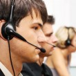 Stock Photo: Customer service operators