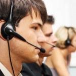 Customer service operators — Stock Photo
