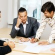 Business team having a discussion — Stock Photo #5726894