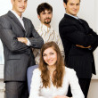 Successful business team — Stock Photo #5726908