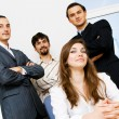 Successful business team — Stock Photo