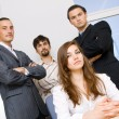 Successful business team — Stock Photo #5726919