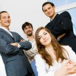 Successful business team — Stock Photo #5726921