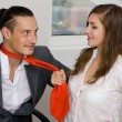 Stock Photo: Office love