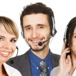 Customer service operators — Stock Photo