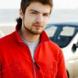 Hansdsome young man portrait — Stock Photo #5727102