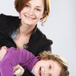 Young mother with her daughter — Stock Photo #5727141